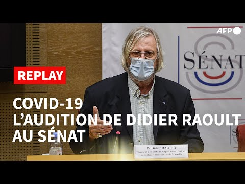 REPLAY - Raoult en solo devant les sénateurs après avoir refusé le format table-ronde