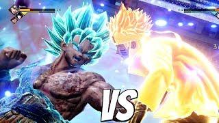 Video JUMP FORCE - Goku SSB Kaioken vs Naruto 1vs1 Gameplay (PS4 Pro) MP3, 3GP, MP4, WEBM, AVI, FLV Februari 2019