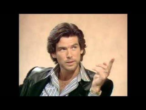 Pierce Brosnan on Letterman (1985 )