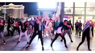 Las Vegas Flash Mob Proposal (4-22-17) (Carl+Stephanie) (Michael Jackson/Maroon 5/Bruno Mars Medley)