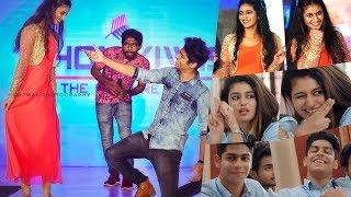 Video Priya Varrier & Roshan Dance Live At Kochi , Oru Adaar Love Actress And Crew Live MP3, 3GP, MP4, WEBM, AVI, FLV Maret 2018