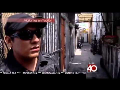 Informativo 40 Corto, Los guardias de Tepito, 14 de marzo de 2013