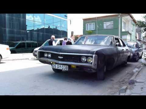 1969 Chevrolet Belair My oldman (250 cui No Muffler) Good sound