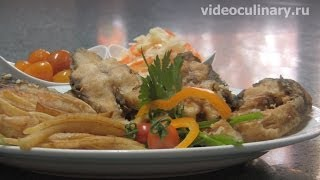 Рецепт - Рыба жаренная от  Бабушки Эммы