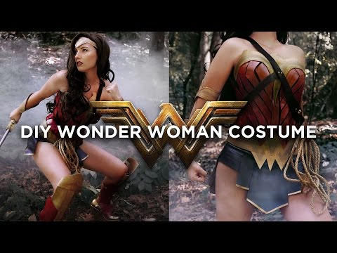 DIY WONDER WOMAN COSTUME | THE SORRY GIRLS
