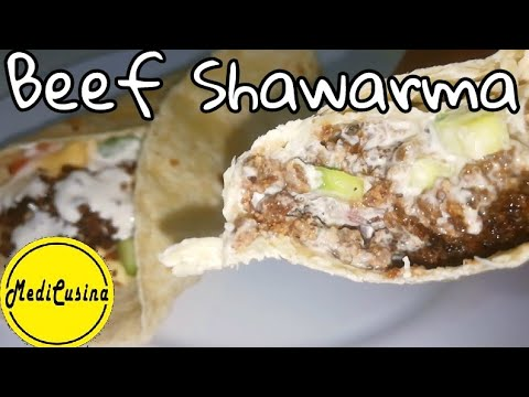 Beef Shawarma | How To Make Beef Shawarma Recipe | Filipino Style