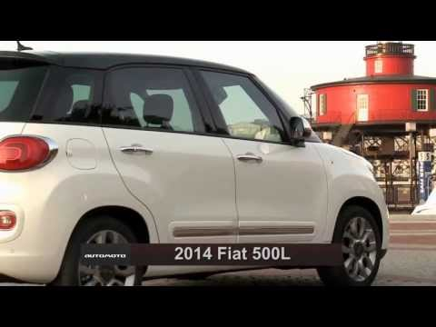 2014 Fiat 500L Driving Review | AutoMotoTV