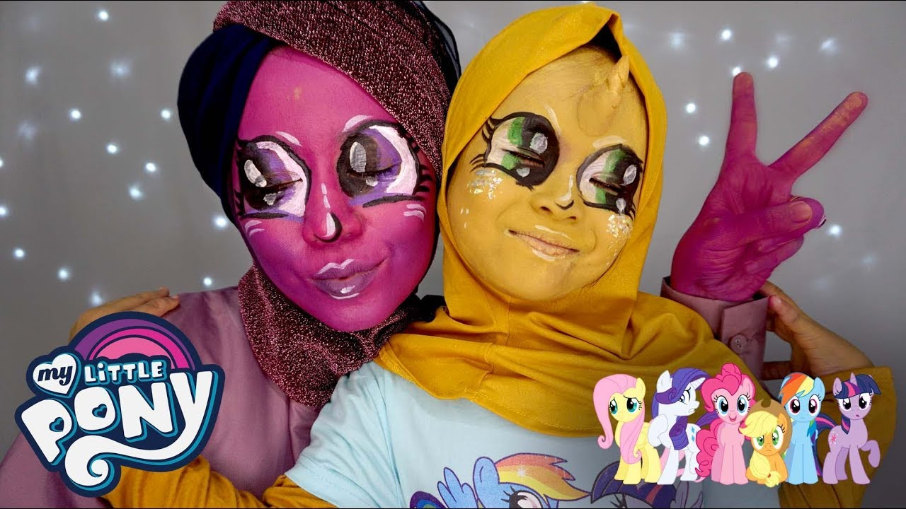 face painting my little pony tutorial by ini vindy