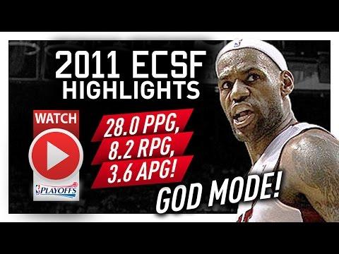 Throwback: LeBron James ECSF Offense Highlights VS Celtics 2011 Playoffs - GOD MODE!
