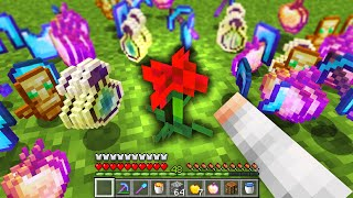 Minecraft Flower Power UHC but there is only 1 FLOWER...