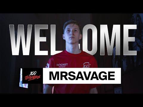 MrSavage Joins 100 Thieves!