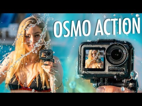 DJI Osmo Action = GoPro Killer?! Unboxing and review!