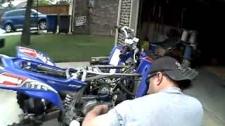 7. YFZ450 Bill Balance cylinder and head removal
