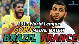 Video BRAZIL vs. FRANCE - 2017 World League GOLD MEDAL MATCH - ALL BREAKS REMOVED MP3, 3GP, MP4, WEBM, AVI, FLV Mei 2018