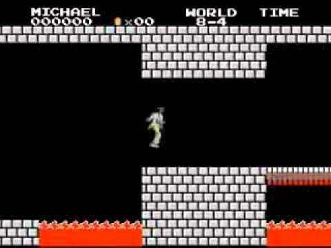 Michael Jackson版馬力歐!月球漫步…