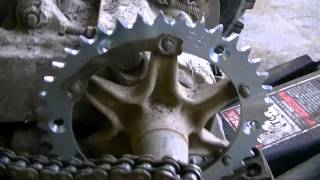7. Replacing Chain and Sprockets