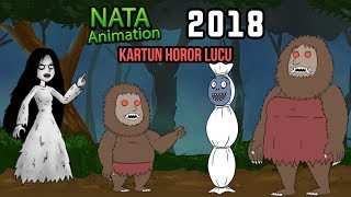Video Kompilasi Kartun Horor Lucu Kuntilanak, Pocong, Genderwo - Nata Animation 2018 MP3, 3GP, MP4, WEBM, AVI, FLV Januari 2019
