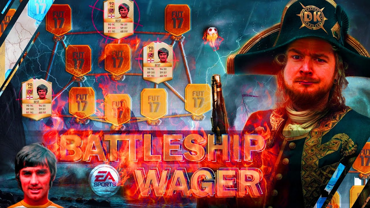 FIFA 17: 90er LEGENDE BUTRAGUEÑO BATTLESHIP WAGER ⚔🔥 ULTIMATE TEAM DEUTSCH