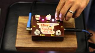 Analog Alien - Alien Twister Fuzz - Pedal Demo