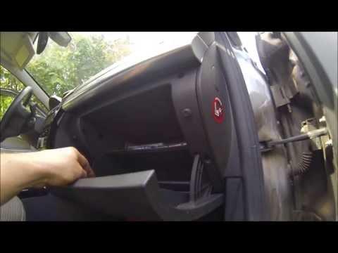 Opel astra о замена фильтра салона фотка