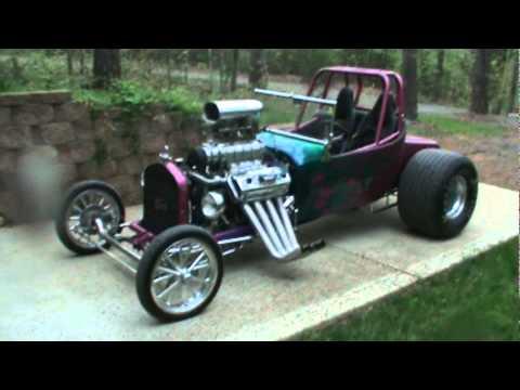 Blown 392 Hemi Roadster T-Bucket