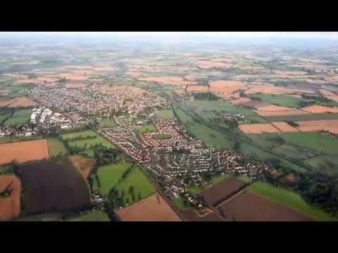 Virgin Hot Air Balloon Flight Over Mid Norfolk