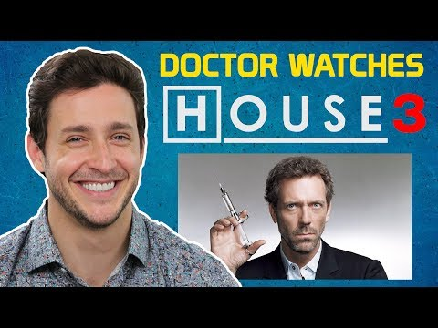 "Real Doctor Reacts to HOUSE M.D. #3 | ""All In"" 