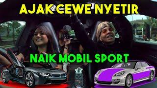 Download Video AJAK CEWE NYETIR MOBIL SPORT 😱 Nabrak Mogok 😢 MP3 3GP MP4