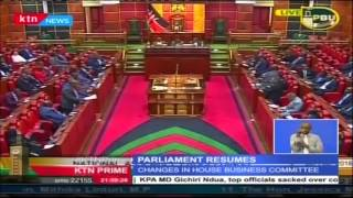 Two Chambers Of Parliament, The Senate And National Assembly Resume Business