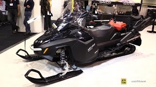 7. 2016 Ski Doo Expedition LE Sled - Walkaround - 2015 Toronto Snowmobile & ATV Show