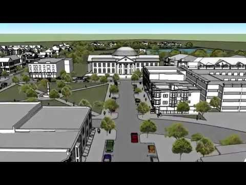 Spring Hill Town Square Master Plan Flyby