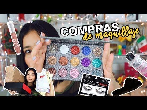 Videos de uñas - HAUL / COMPRAS DE MAQUILLAJE Y PANTUFLAS   Karla Burelo :)