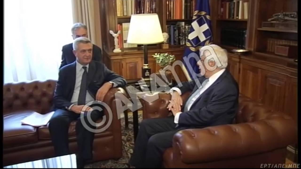 Συνάντηση Π. Παυλόπουλου με τον Ύπατο Αρμοστή του ΟΗΕ για τους Πρόσφυγες