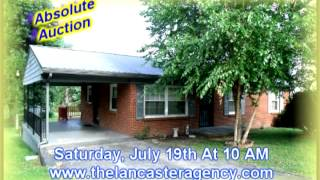 Lancaster Agency Auction July 19th