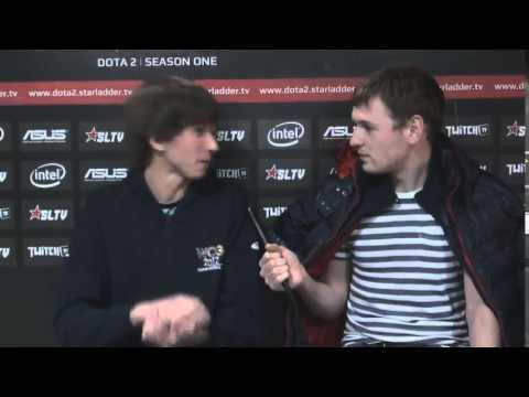 Dendi interviews prb after StarLadder Season 4 with Eng subtitles