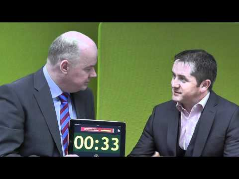 Johnny Beirne, Digital Business Institute, takes the 60 second challenge with Omagh Enterprise