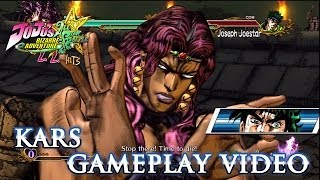 jojos bizarre adventure allstar battle  ps3  kars gameplay combo trailer