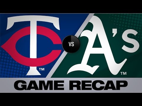 Video: Garver's hit in 12th propels Twins past A's   Twins-A's Game Highlights 7/3/19