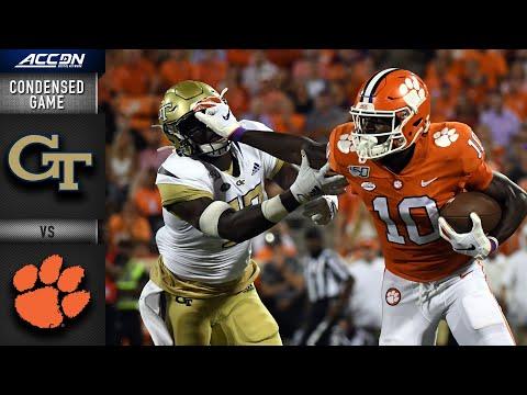 Georgia Tech vs. Clemson Condensed Game | 2019-20 ACC Football
