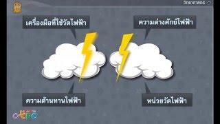 สื่อการเรียนการสอน กระแสไฟฟ้า ม.3 วิทยาศาสตร์