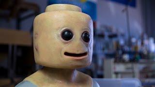 Żywa figurka lego