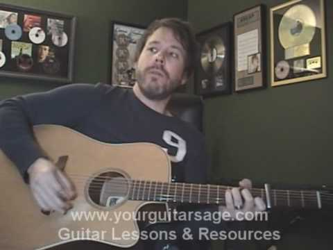 Guitar Lessons – The Freshmen by the Verve Pipe – cover chords freshman Beginners Acoustic songs