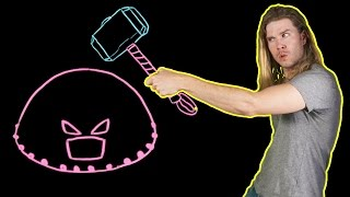 Can Thor's Hammer Stop the Juggernaut? (Because Science w/ Kyle Hill)