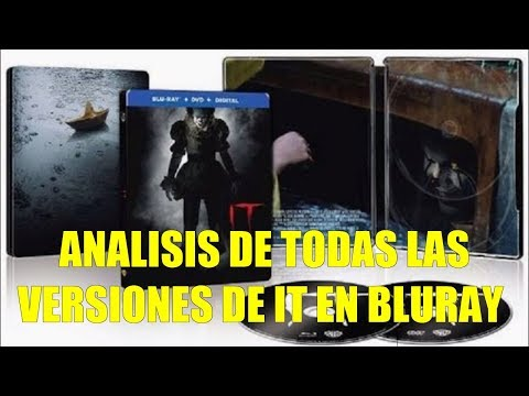 Analisis De Todas Las Versiones De IT En Bluray