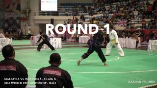 Download Lagu Highlights | Pencak Silat 2016 Bali World Championships | Malaysia Vs Indonesia Class B Mp3