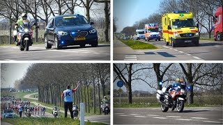 Video ScheldePrijs 2019 | Vele Hulpdiensten begeleiding wielrenners van Terneuzen naar Schoten MP3, 3GP, MP4, WEBM, AVI, FLV Mei 2019