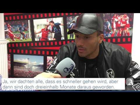 Fussball: Mainz 05 - Karim Onisiwo glaubt fest an den Klassenerhalt