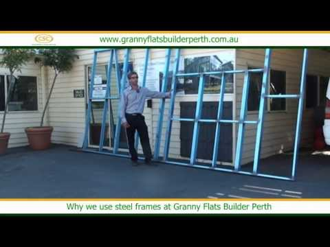 Why we use steel frames at granny flat builders