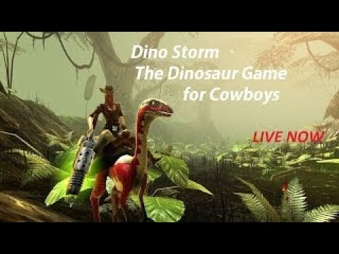 DINO STORM — THE FREE 3D ONLINE GAME WITH COWBOYS. DINOS. AND LASER GUNS LIVE
