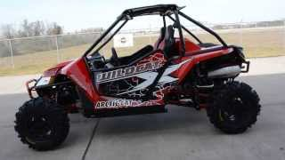 5. 2014 Arctic Cat Wildcat X Limited with Elka Stage 5 Shocks Vibrant Red $20,399  Overview and Review